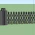 Electric remote control telescopic door