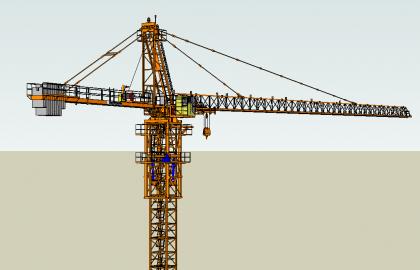 tower crane 12